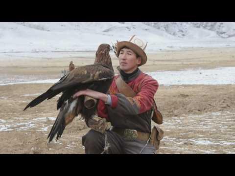 Kyrgyzstan celebrates Salburun traditional hunting Festival