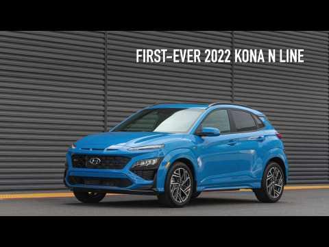 New 2022 Hyundai Kona Electric N Line Highlights