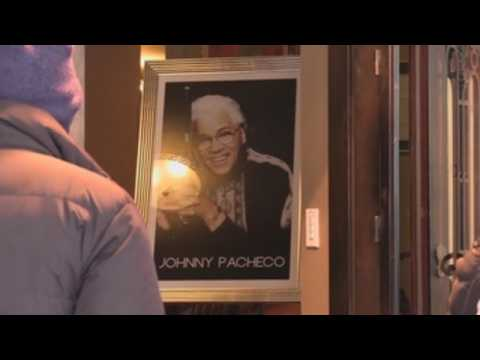 Fans pay tribute to late salsa legend Johnny Pacheco in New York