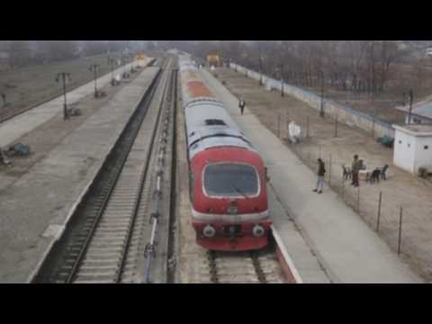 Train services in Kashmir resume after 11 months of COVID-19 closure