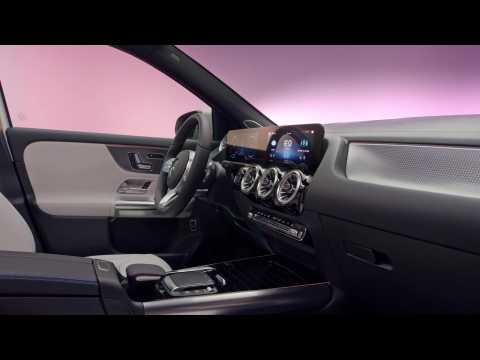 The new Mercedes EQA Interior Design in Studio