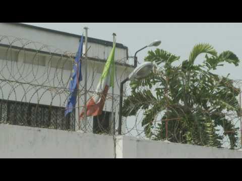 Italian ambassador killed in DR Congo attack: scene outside embassy