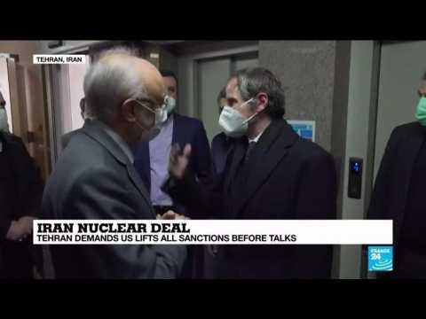Iran nuclear deal: Tehran demands US lift all sanctions before talks