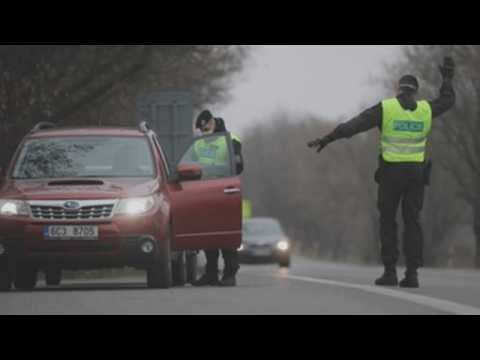 Authorities increase checkpoints as strict Covid measures are imposed in Czech Republic