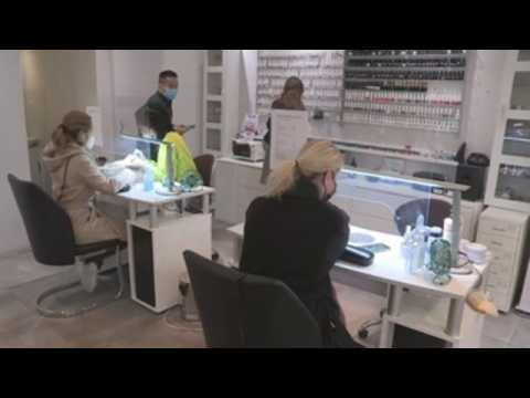 Beauty salons and tattoo parlors reopen in Belgium