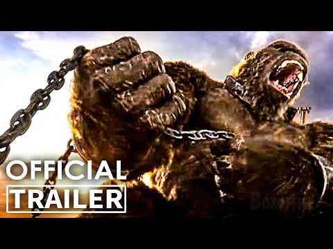 """GODZILLA VS KONG """"Chained Kong"""" Trailer (2021)"""