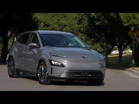 2022 Hyundai Kona Electric Driving Video