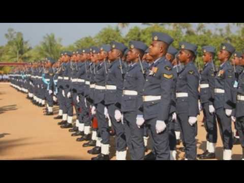Sri Lanka marks Air Force's 70th anniversary with parade