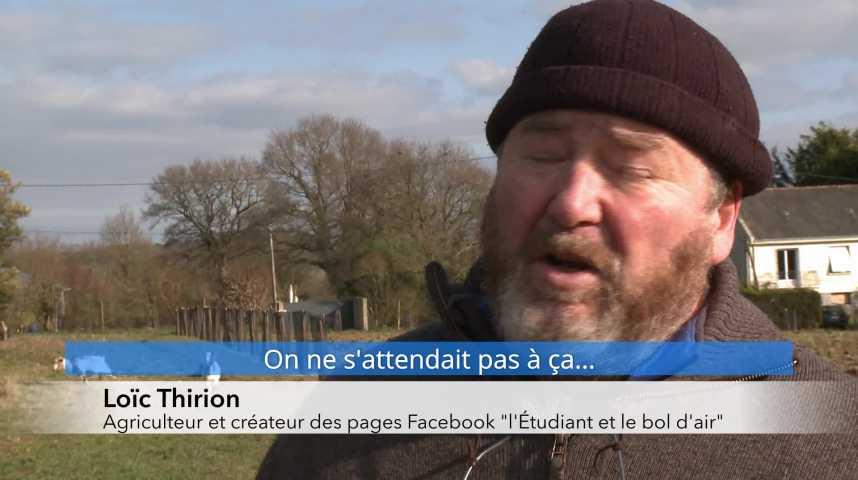 Thumbnail L'étudiant et le bol d'air : les groupes Facebook d'un agriculteur breton cartonnent !