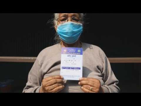 Nepal starts Covid-19 vaccination campaign