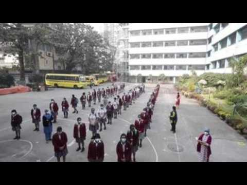 Kolkata reopens schools after 11 months of closure