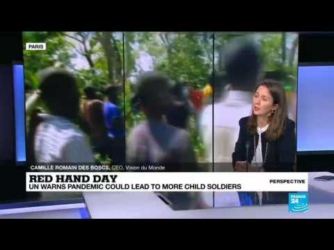 Red Hand Day: Addressing the plight of the world's child soldiers