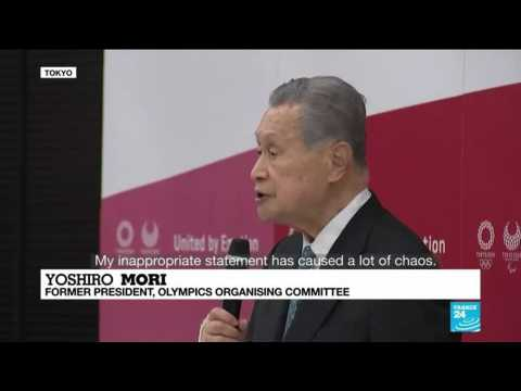 'My inappropriate statement has caused a lot of chaos': Tokyo Olympics chief quits