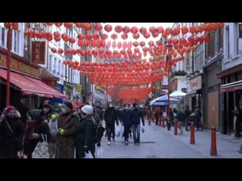 London's Chinatown celebrates the Lunar New Year