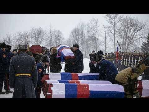 French and Russian soldiers who fought in Napoleon's 18`12 campaign are finally buried