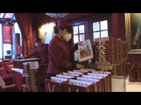 Vienna's Hotel Sacher reinvents itself for Valentine's Day