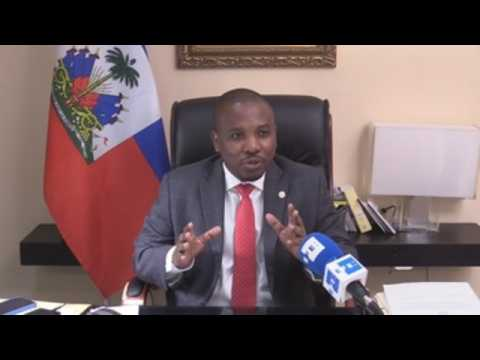 Haiti's foreign affairs chief: The country's situation is under control