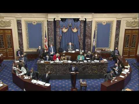Donald Trump acquitted in Senate impeachment trial after Democrats fail to secure enough votes