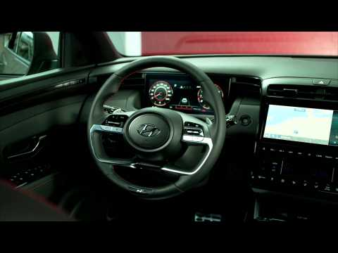 All-new Hyundai TUCSON N Line Interior Design
