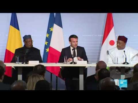 G5 Sahel summit: Macron, regional leaders discuss jihadist insurgency