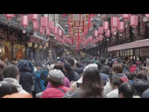 Chinese celebrate Spring Festival amid COVID-19 pandemic