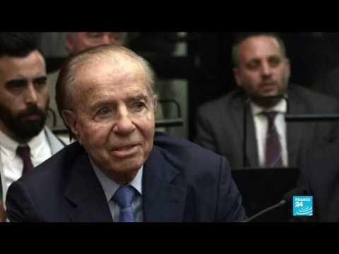 Argentine ex president Carlos Menem dies at age 90
