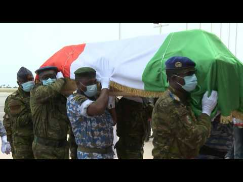 Late Ivory Coast PM's body arrives from Germany
