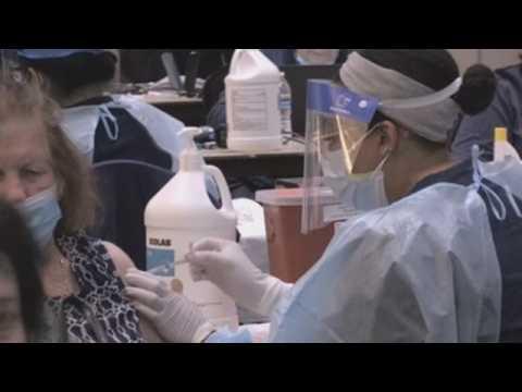 Covid-19 vaccination campaign in Hialeah, Florida