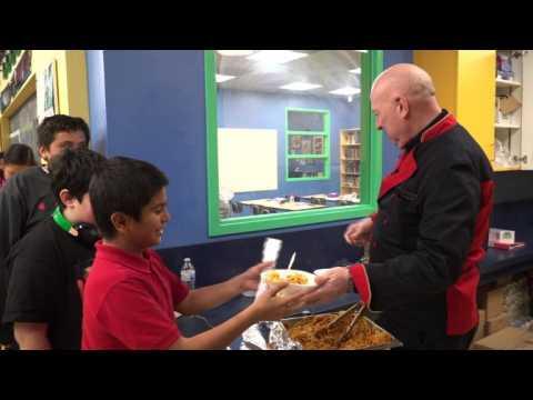 """The power of pasta"": an Italian chef feeds homeless kids"