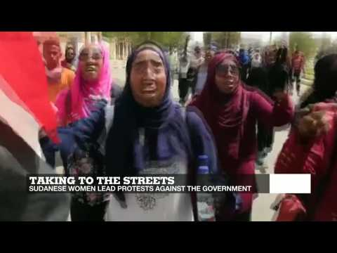 Taking to the streets: Sudanese women lead anti-government protests
