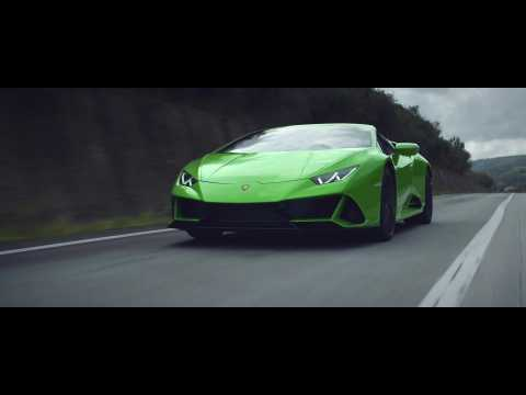 The new Lamborghini Huracán EVO Spyder with Stephanie Childress - The sound of emotions