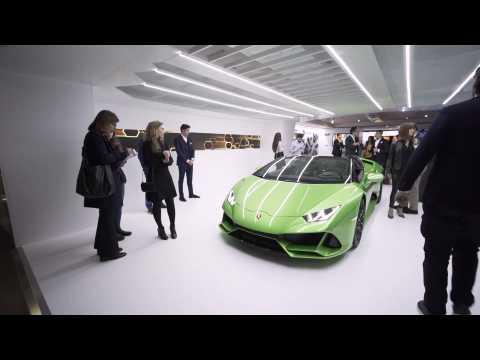 Lamborghini Huracán EVO Spyder @Milan Design Week 2019