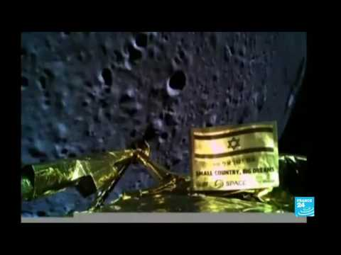 Israel spacecraft crashes during moon landing attempt