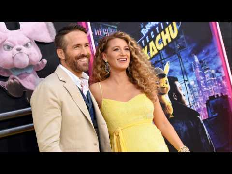 Blake Lively Shows Off Baby Bump During 'Pokemon: Detective Pikachu Premiere