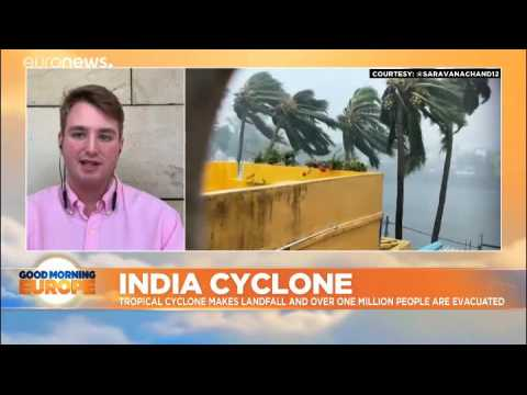 Over a million evacuated as Cyclone Fani makes landfall in eastern India