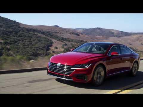 2019 Volkswagen Arteon SEL Premium R-Line 4Motion Driving Video