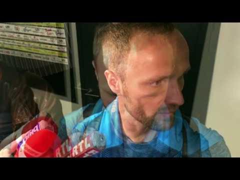 """Guingamp-OM : """"Ca n'a pas été un match très facile"""" (Germain)"""