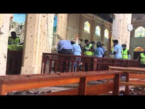 St Sebastian's church: A day after Sri Lanka explosions