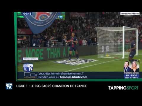 Zap Sport 22042019 le PSG sacré champion de France