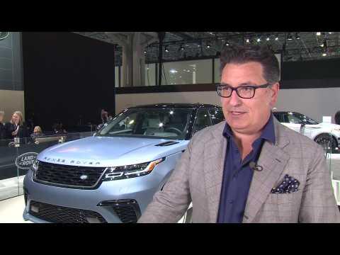 Jaguar Land Rover at the NYIAS 2019 - Massimo Frascella, Exterior Design Director, Land Rover