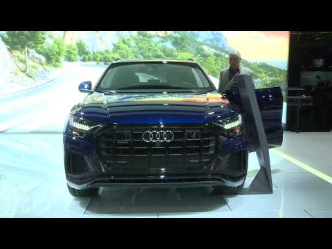 Audi Q8 at the 2019 NY International Auto Show
