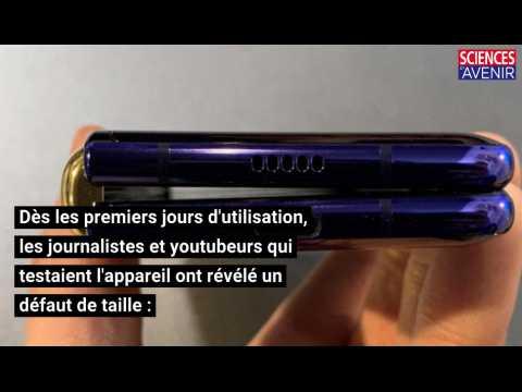 Téléphone pliable Galaxy Fold : Samsung repousse la date de commercialisation