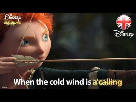 DISNEY SING-ALONGS | Touch The Sky -  Brave Lyric Video | Official Disney UK
