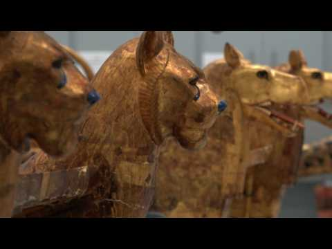Egypt's Grand Museum prepares King Tut collection for opening