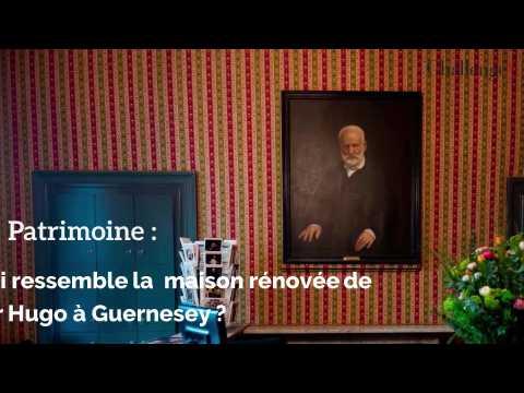 Patrimoine: à quoi ressemble la maison rénovée de Victor Hugo à Guernesey?
