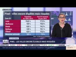 Marie Coeurderoy: Pinel, les villes encore éligibles mais risquées - 09/04