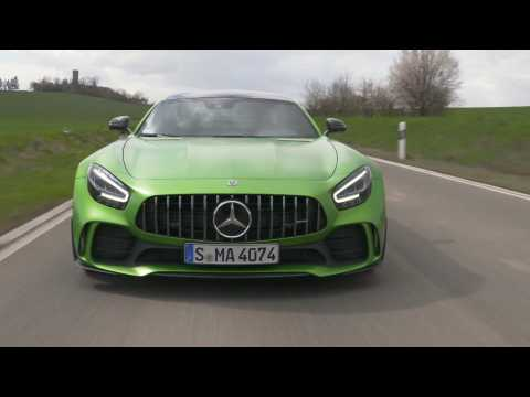Mercedes-AMG GT R in Green hell magno Driving Video