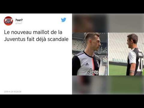Juventus Turin. Un nouveau maillot qui fait débat