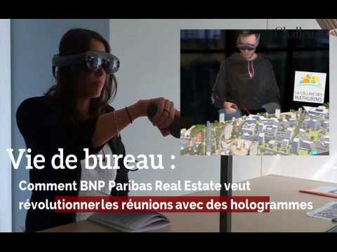 Vie de bureau : Comment BNP Paribas veut révolutionner les réunions avec des hologrammes