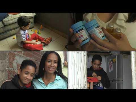 Venezuelan health cover disappears, leaving sick children desperate